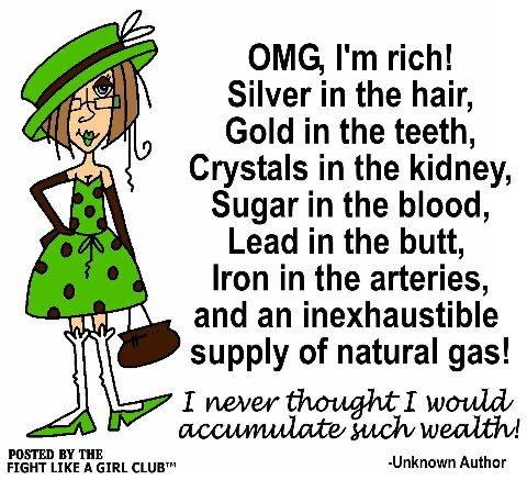 I'm rich!!